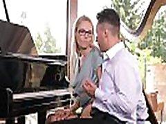 kinky klavir učitelj florane russel dvojno prodrli z dick & sex igrača gp256