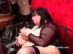 German Goth gangbang forced hard shows her amazing Boobs