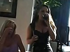 This chick gets horny and masturbates whilst smoking