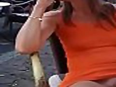 showing her white pussy in Mumbai in realty ffm public place