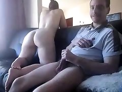 Sexy new chance MIlf Gives Hung Stud a Blowjob