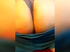 Teen Bbw twerking, spreading, and spanking fat ass