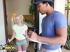 BANGBROS - Tiny Blonde Riley kelly reed Almost Gets Split In Half