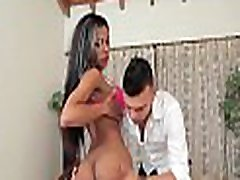 Vulgar shemale floozy gets excited of deep penetration in ass