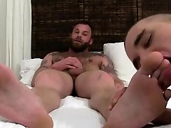 Blowjob men to gay sex movie Derek Parkers Socks and