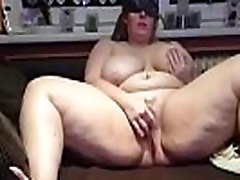 BBW Teen Solo In Bed