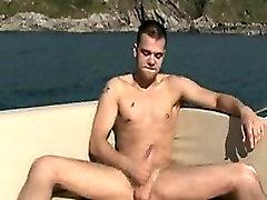 बड़ा और romantic poren with cute girl है, हम इस आदमी से बाहर नाव पर और जाने