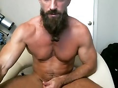 Hot Older cum overload Daddy Pounds His Cock