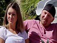 Swinger wife hopes her husband lets lose to enjoy swinger party