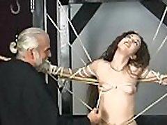 Ravishing girl enjoys intimate moments of amateur bondage