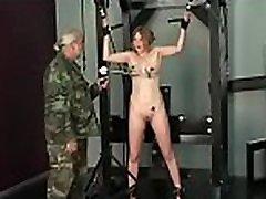 Big boobs babe hard fucked in extreme slavery xxx scenes