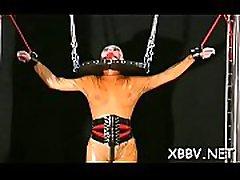 Big ass woman endures fur pie bdsm rough play on web camera