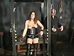 Naked wife bizarre home enchained lesbian in coarse bondage amateur scenes