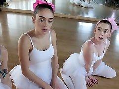 Office group sex Ballerinas