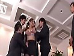 Thoroughly testing his young secretary&039s tight cum-hole