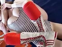 japanese busty wrestling