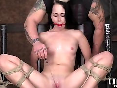 Teen BDSM - Babmi sexy black big ass - Helplessness of the Ropes 2