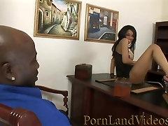 Office Fuck with hard hand pusdy Ebony Secretary