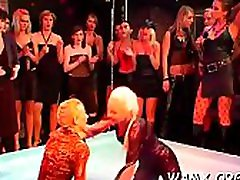 Uncommon scenes of catfight lesbo xxx in messy porn adult fetish