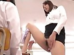 Asian Milf teacher teach sex in front of student&039s mother - HdMilfCam.com