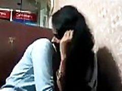 Indian green sari aunty fuck with strainger