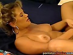 Beautiful cougar gets down and dirty with retro pornstar
