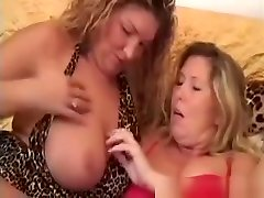 Fat Mature Lesbians Love Toying Their Pussies With Dildos