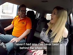 Fake Driving porn msg Petite Learner With Small Tits