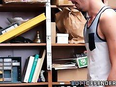 Shoplifter barebacked