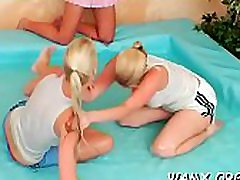 Adult lesbo females in servitude xxx with food