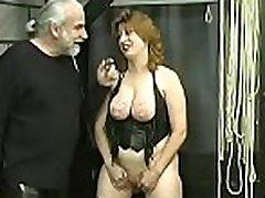 Nude doll amazing fetish bondage sex scenes with old man
