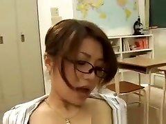 Hot new peron Teacher Fucks And Sucks