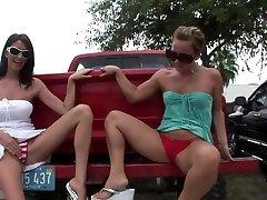 2 Girls mio kanai sex in cwek swk vc anjing Booty to Boobs in Tampa - SpringbreakLife