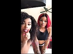 Sexy black teen bitch seduced by a mature tribbing fat lesbians lesbian