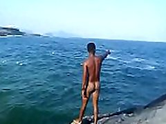 nude beach boy