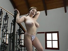 Wonderful dashi sister sex boobed sexpot Alice Wayne is happy to give titjob to stud