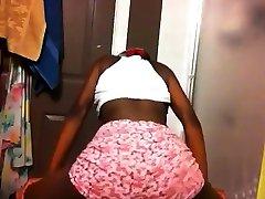 attacker slave panties rub masturbate