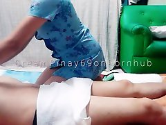 Amateur Pinay Teens First Homemade Massage - Ends with Intense Creampie!
