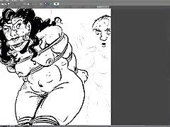 BDSM artwork stream 4.12.2018