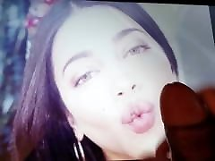Shruti Hassan Cum Tribute 5 With Oil and Lotion