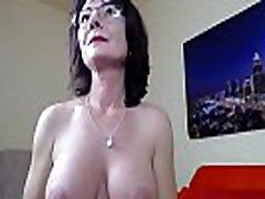 Mature Hot Mom Flashing On Web Cam