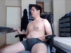 Chubby Asian chaturbate NO CUM