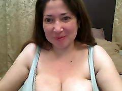 Amateur Big Boobs Mom Masturbate on webcam