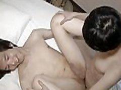 Japanese twink spermed on