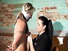 bdsm rough sex - Big Blonde british teen fucked with big strapon - WWW.GIFALT.COM - bondage fetish