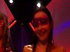 mika tan lexx at a party