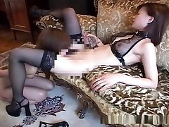 Asian bondage babe forced to pleasure her mistress