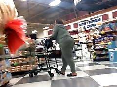 Thick Block Booty ebony granny