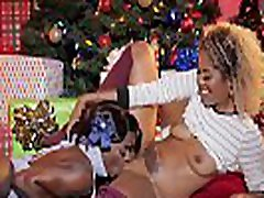 Ebony lesbians lick each other&039s pussies and asses for the holidays