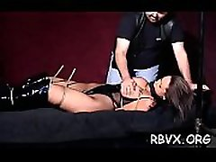 Petite beauty becomes bounded slave in sexy bffs hard core com scene